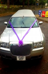 wedding car in maidstone